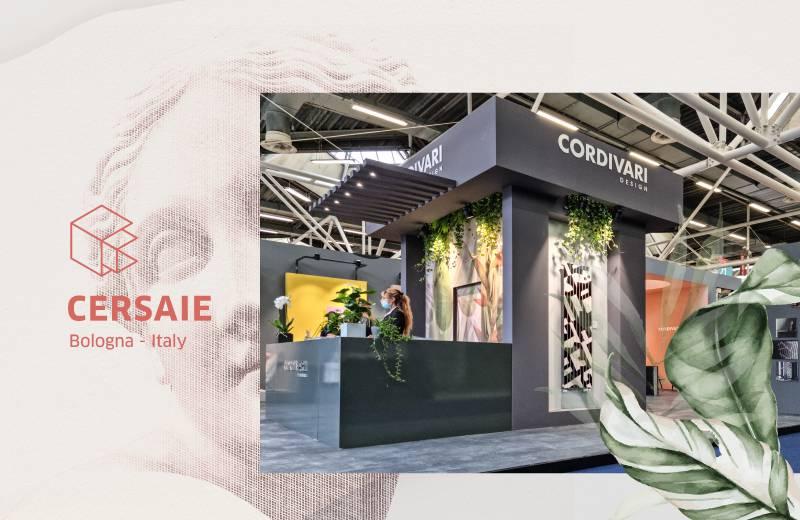 Cordivari Design @ Cersaie 2021 | Open the Evolution