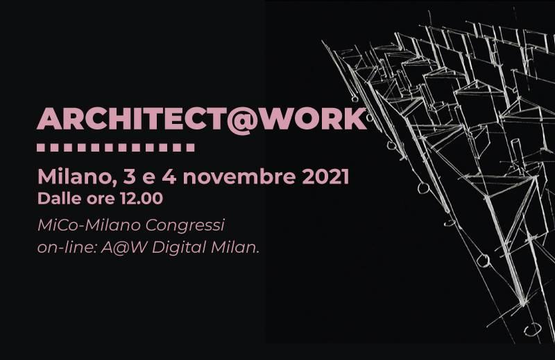 Cordivari Design ti aspetta ad ARCHITECT@WORK MILANO 2021