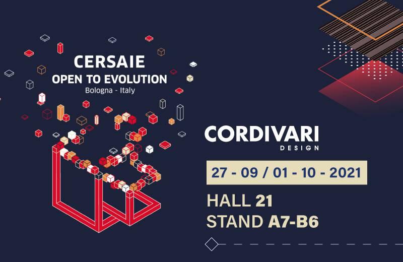 CORDIVARI DESIGN @ CERSAIE 2021
