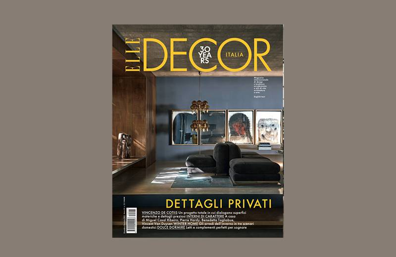 ELLE DECOR | JANUARY 2021