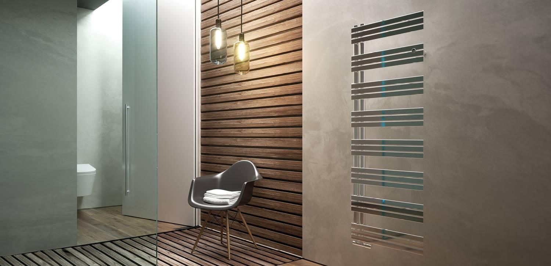 Stainless steel designer radiator
