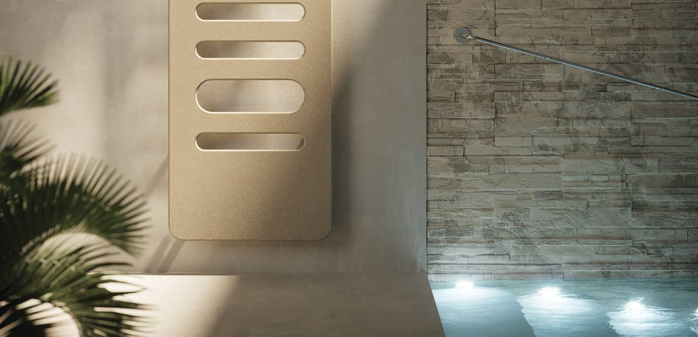 Termoarredo di design verticale