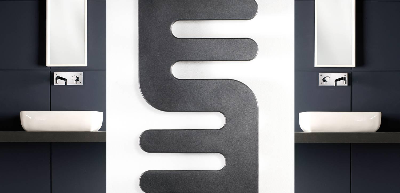 Flat panel towel warmer