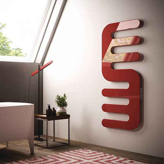 Electric towel rail for bathroom